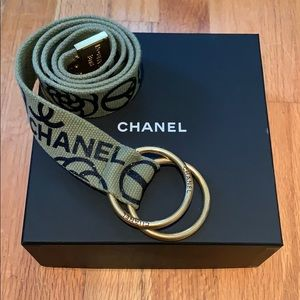 Chanel rope belt